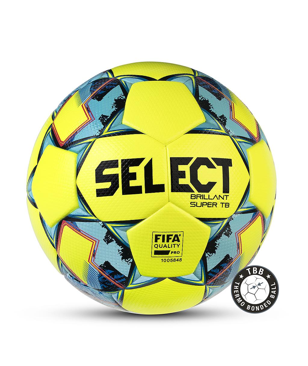Купить мяч Select Brillant Super FIFA TB V21 810316-152 жёлтый в интернет-магазине
