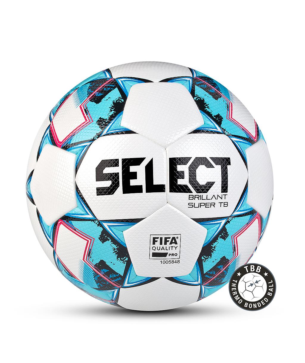 Купить мяч Select Brillant Super FIFA TB V21 810316-102 белый в интернет-магазине