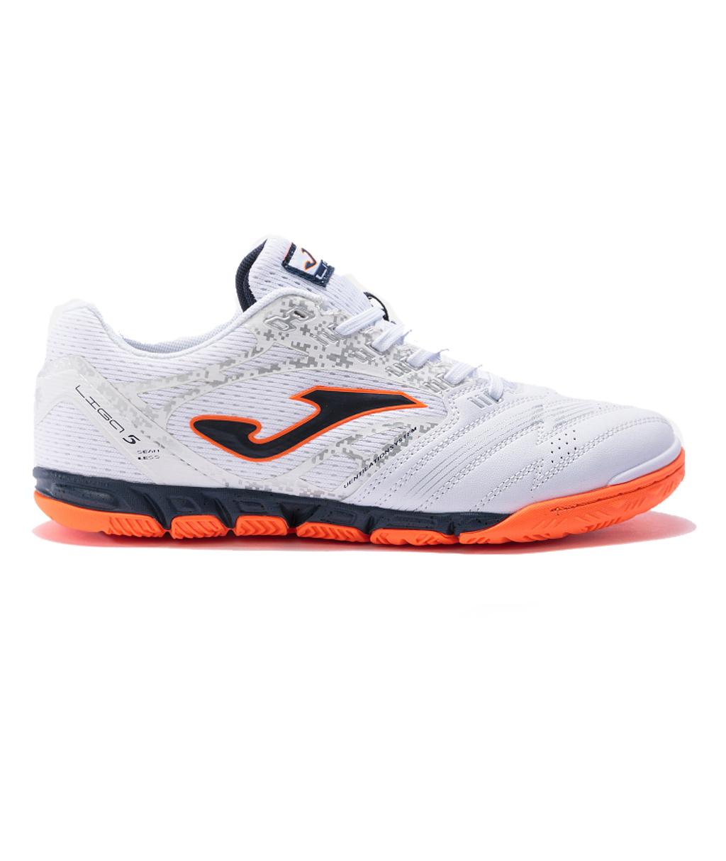 Купить футзалки Joma Liga 5 LIGW2102IN белые в интернет-магазине
