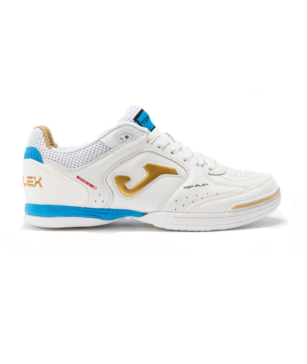 Купить футзалки Joma Top Flex TOPW2102IN белые в интернет-магазине