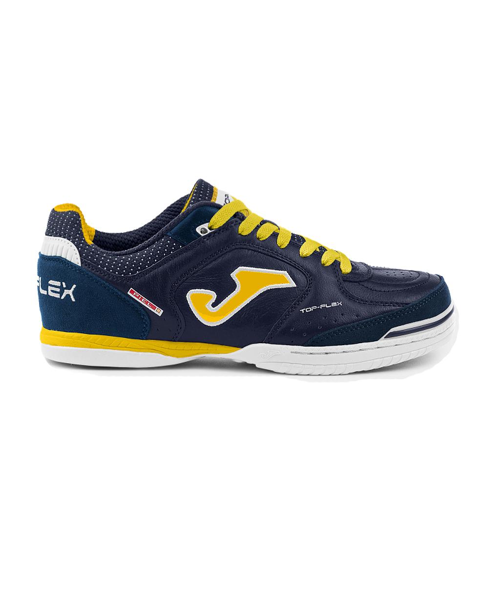 Купить футзалки Joma Top Flex TOPW2103IN тёмно-синие в интернет-магазине