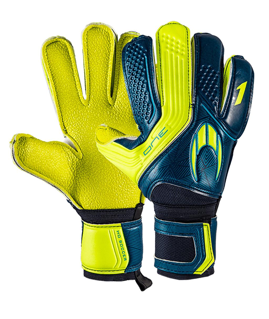 Купить перчатки HO Soccer One Flat Robust Deep Blue 051.0941