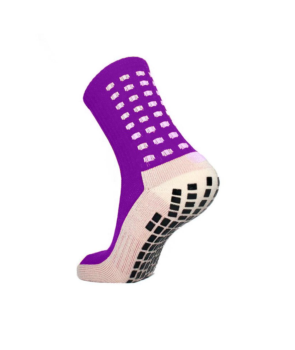 Купить розовые футбольные носки – противоскользящие, аналог trusox